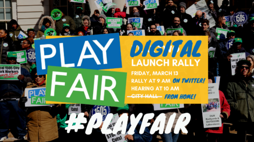 Watch our last-minute pivot to a Digital Rally for Parks on YouTube!