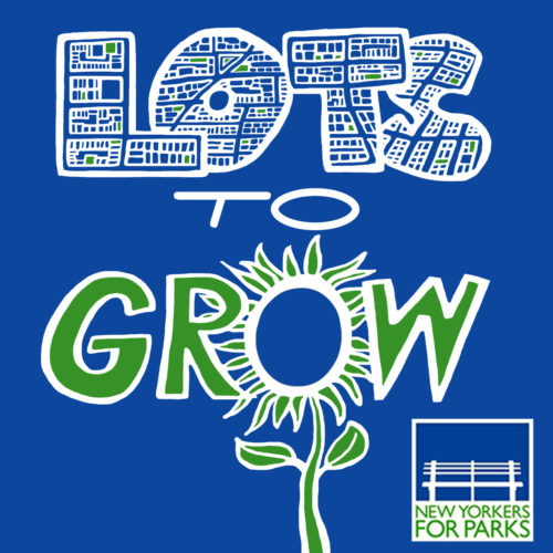 Lots to Grow logo made by Jessica Saab for NY4P in 2019 with Adobe Photoshop