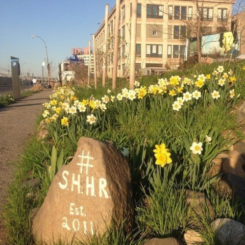 One of the fence-less corners of the Smiling Hogshead Ranch in Long Island City, Queens. Photo retrieved from https://www.atlasobscura.com