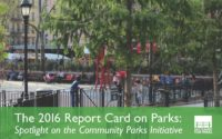 The 2016 Report Card on Parks