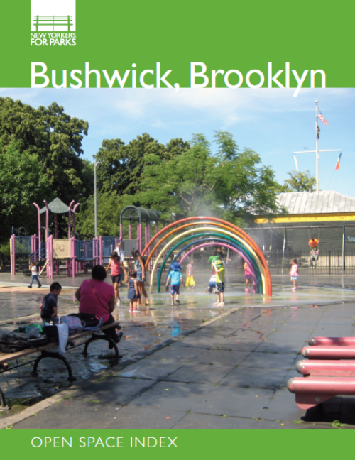 The Bushwick Open Space Index, released in October 2019 along with the Bay Street Corridor Open Space Index and the Long Island City Open Space Index.