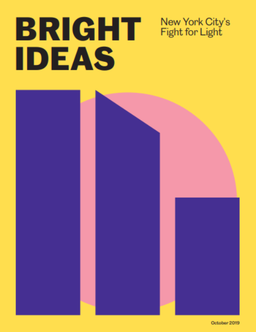 Bright Ideas: New York City's Fight for Light was presented by MAS and NY4P at the 2019 Summit for New York City, held at The New York Academy of Medicine on October 25.