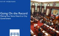 Webinar - Going On the Record: Making Your Voice Heard to City Government