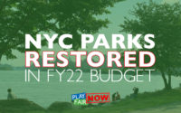 Play Fair Coalition Applauds Parks Funding in FY22 Budget